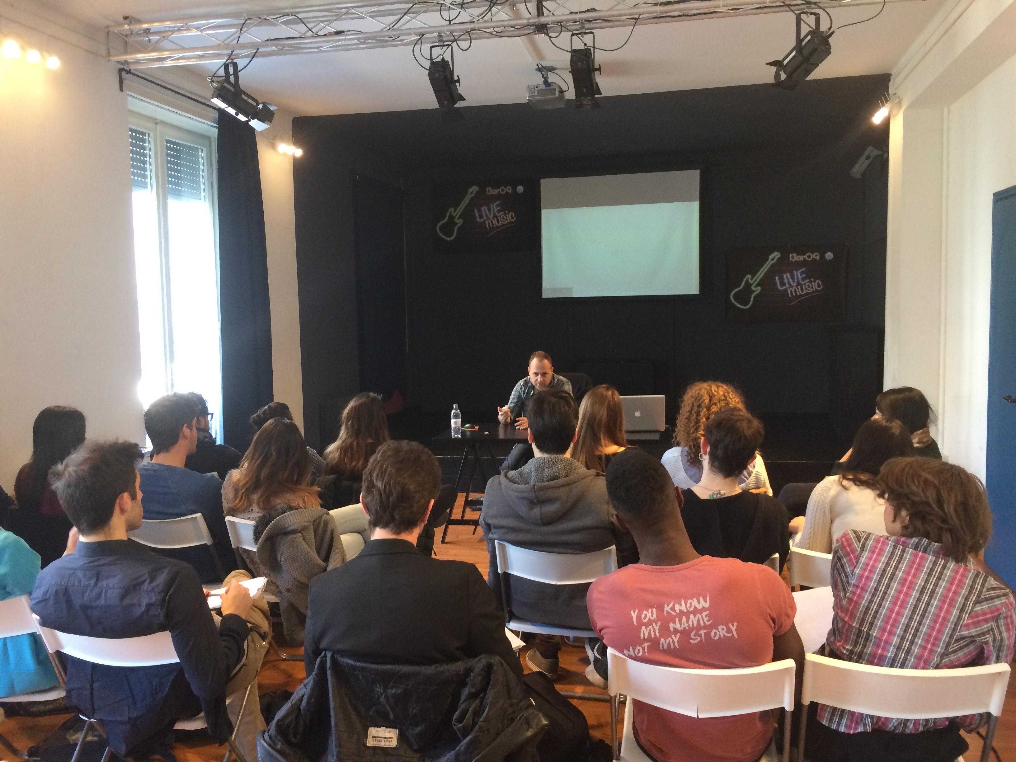IMG 1319 - Terzo giorno di seminario con Dario Baldi per gli attori e i registi dell'Accademia, e non finisce qui... - Accadema di spettacolo, radio e tv Milano