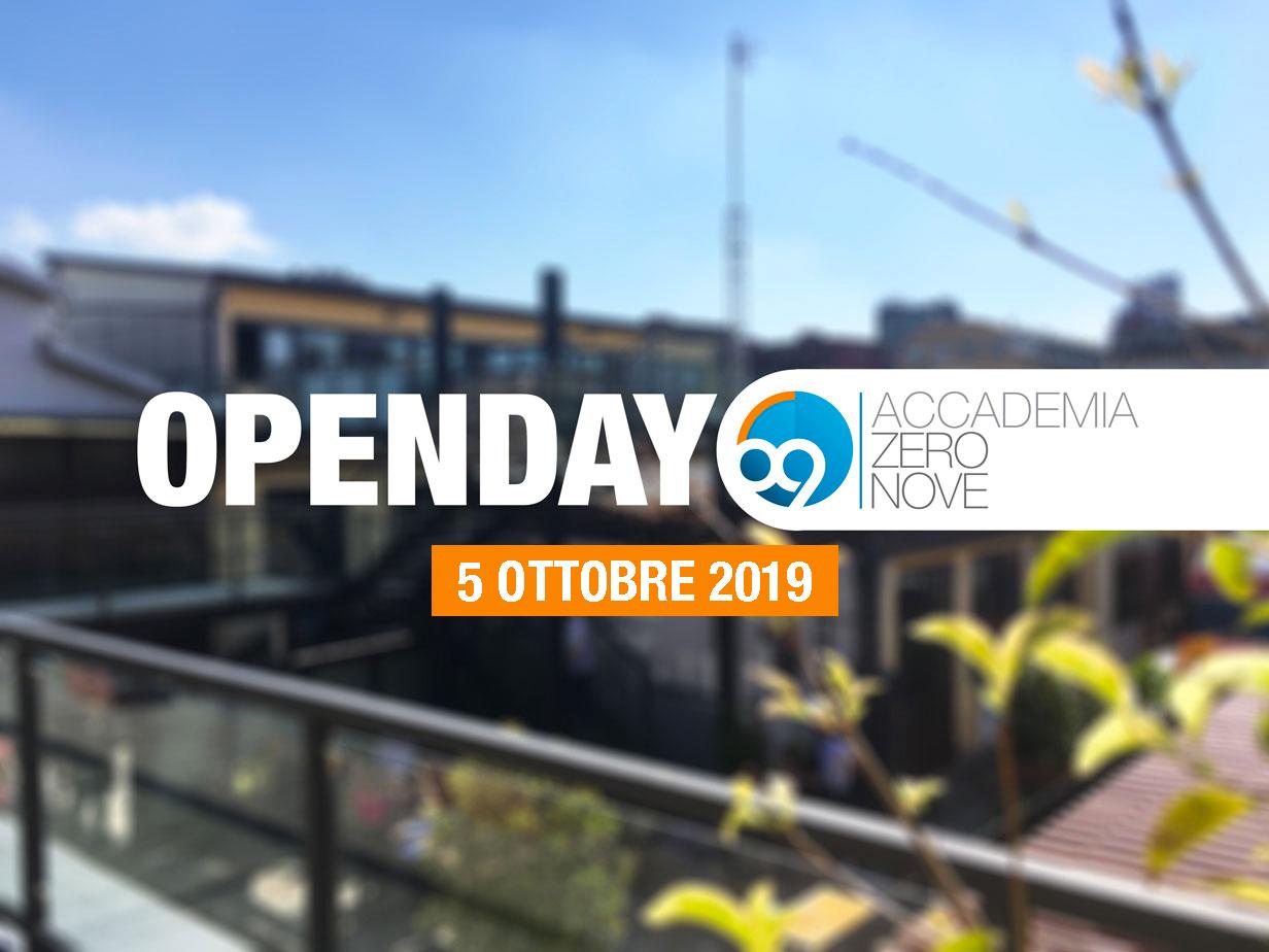 OPENDAY OTTOBRE - Open Day 5 Ottobre 2019 - Accadema di spettacolo, radio e tv Milano