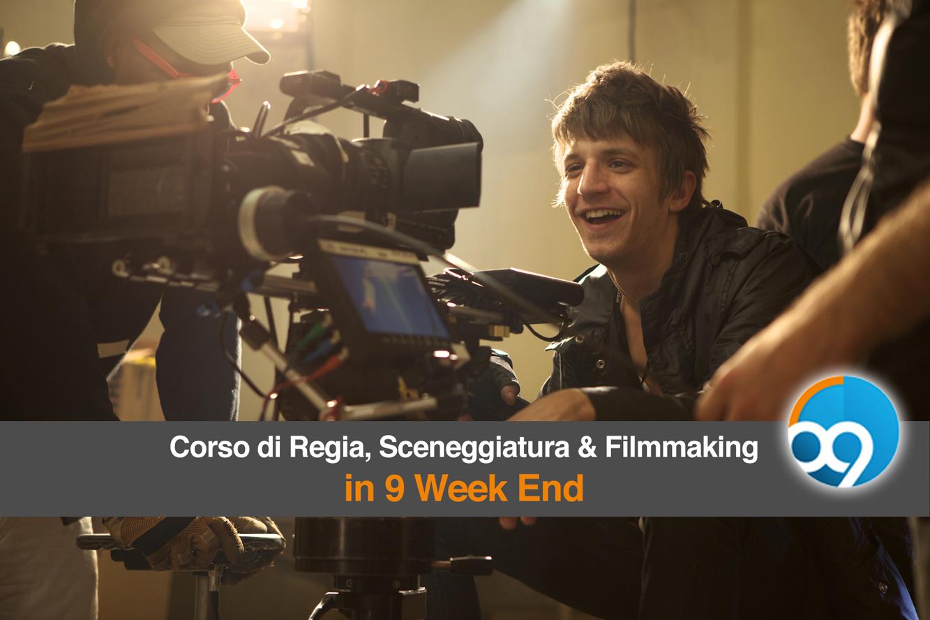 corsi di regia e filmmaking - Corso di Sceneggiatura, Regia e Filmmaking in 9 Week-End - Accadema di spettacolo, radio e tv Milano