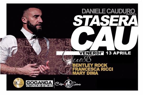 STASERA CAU Daniele Cauduro Milano