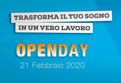 Open Day 21 febbraio 2020