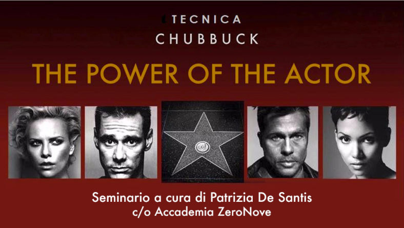 Workshop Tecnica Chubbuck 12/13 ottobre 2019